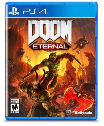 Juego PS4 DOOM ETERNAL...