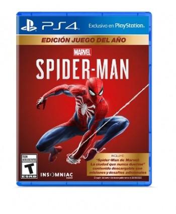 Juego PS4 SPIDERMAN GOTY ED...