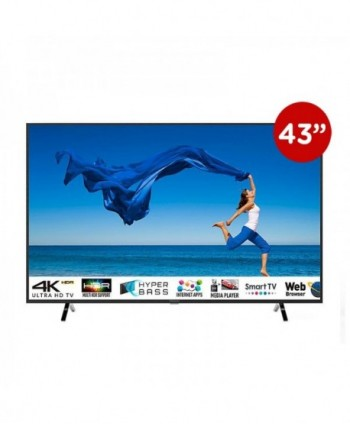 "PANASONIC LED 43"" UHD 4k..."