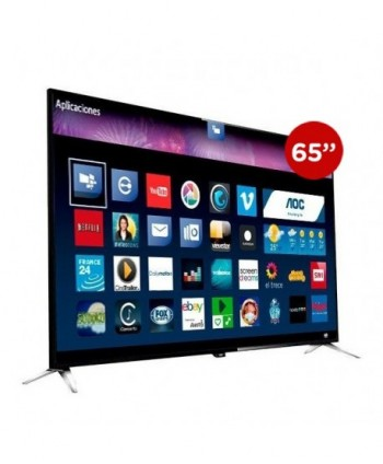 "AOC LED 65"" UHD 4K Smart Tv..."