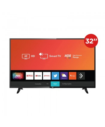 "AOC LED 32"" UHD Smart Tv..."