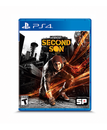 Juego PS4 inFAMOUS Second...